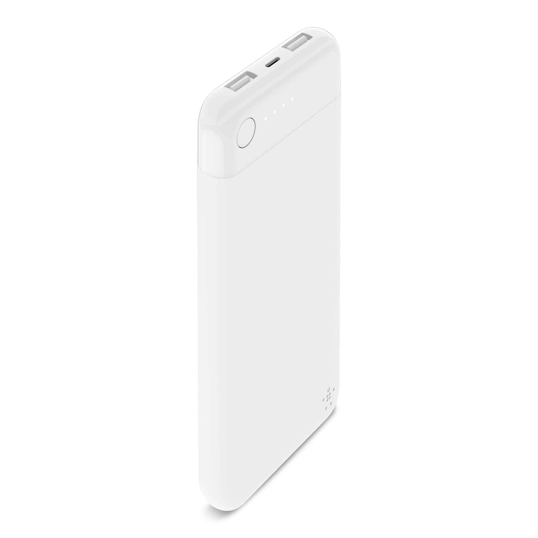Belkin Boost Charge 10K White F7U046 WHT - Belkin เปิดตัวเพาเวอร์แบงก์ BOOST CHARGE Power Bank 10K with Lightning Connector