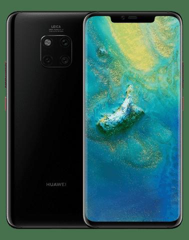 HUAWEI Mate 20 Pro Black - HUAWEI Mate 20 Pro ได้รับรางวัล สมาร์ทโฟนยอดเยี่ยม (Best Smartphone)