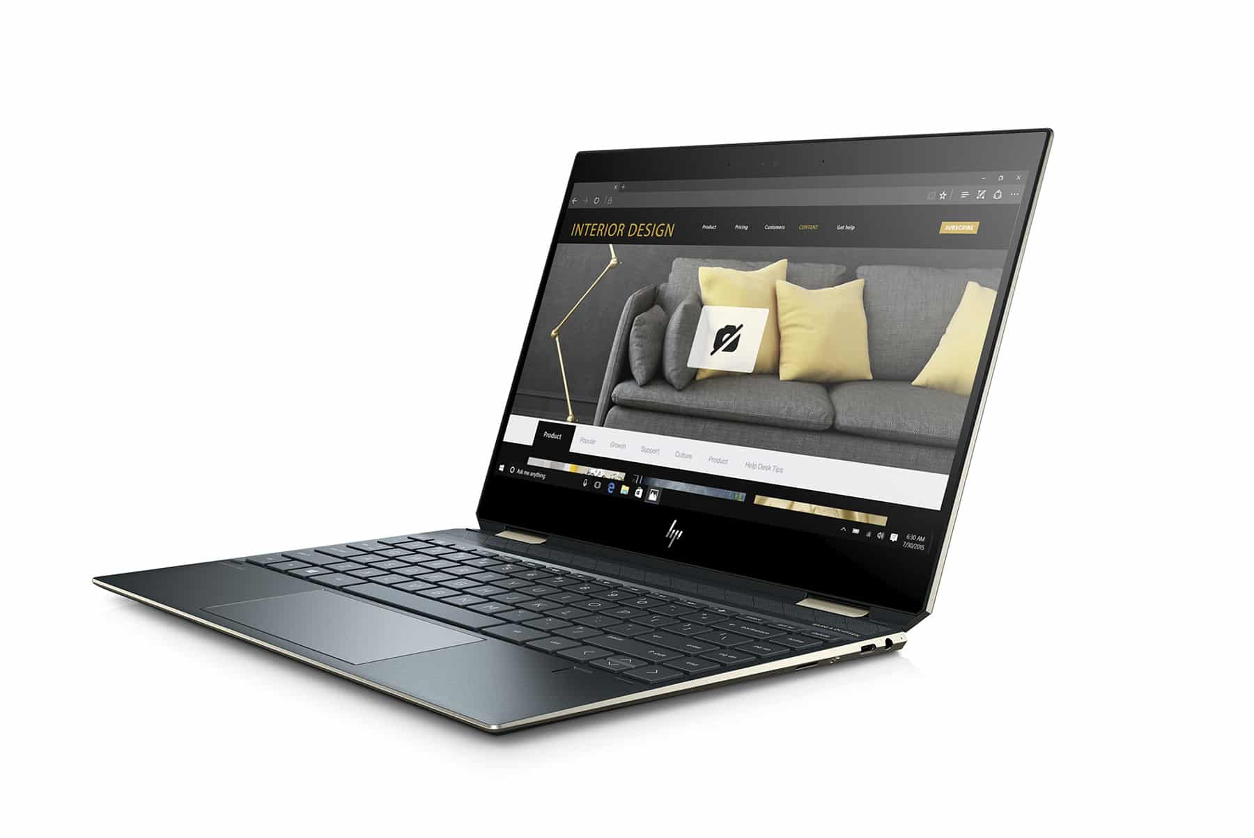 Spiderman13 WLAN PoseidonBlue T IRcam nonODD FPR Hero FrontLeft PrivCamEnabled - เผยโฉม HP Spectre x360 ในรูปแบบ Convertible PC รุ่นล่าสุด