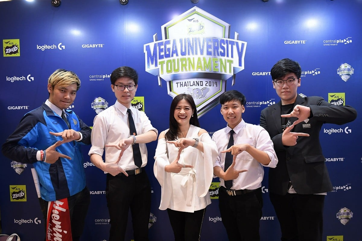 AIS Zeed x MEGA eSports 00001 - AIS ZEED หนุนเด็กมหา'ลัย จับมือ MEGA Esports จัดลีกอีสปอร์ตระดับมหาวิทยาลัย