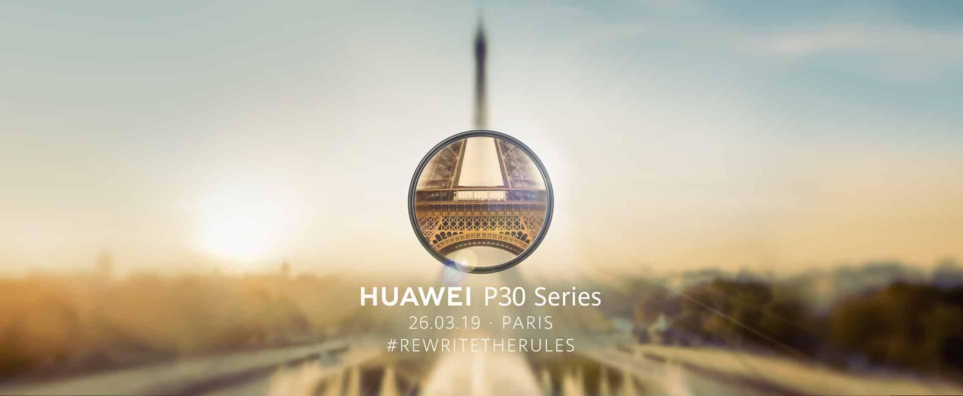 HUAWEI P30 Series Live Stream - เปิดตัว Huawei P30 Series วันที่ 26 มีนาคมนี้ 2 ทุ่มตามเวลาไทย