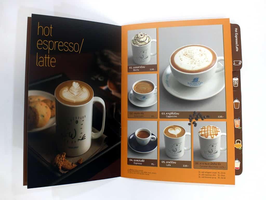 MIW Services menu  00004 - บริการ พิมพ์เมนูอาหาร ออกแบบเมนูอาหาร พิมพ์เมนูเครื่องดื่ม
