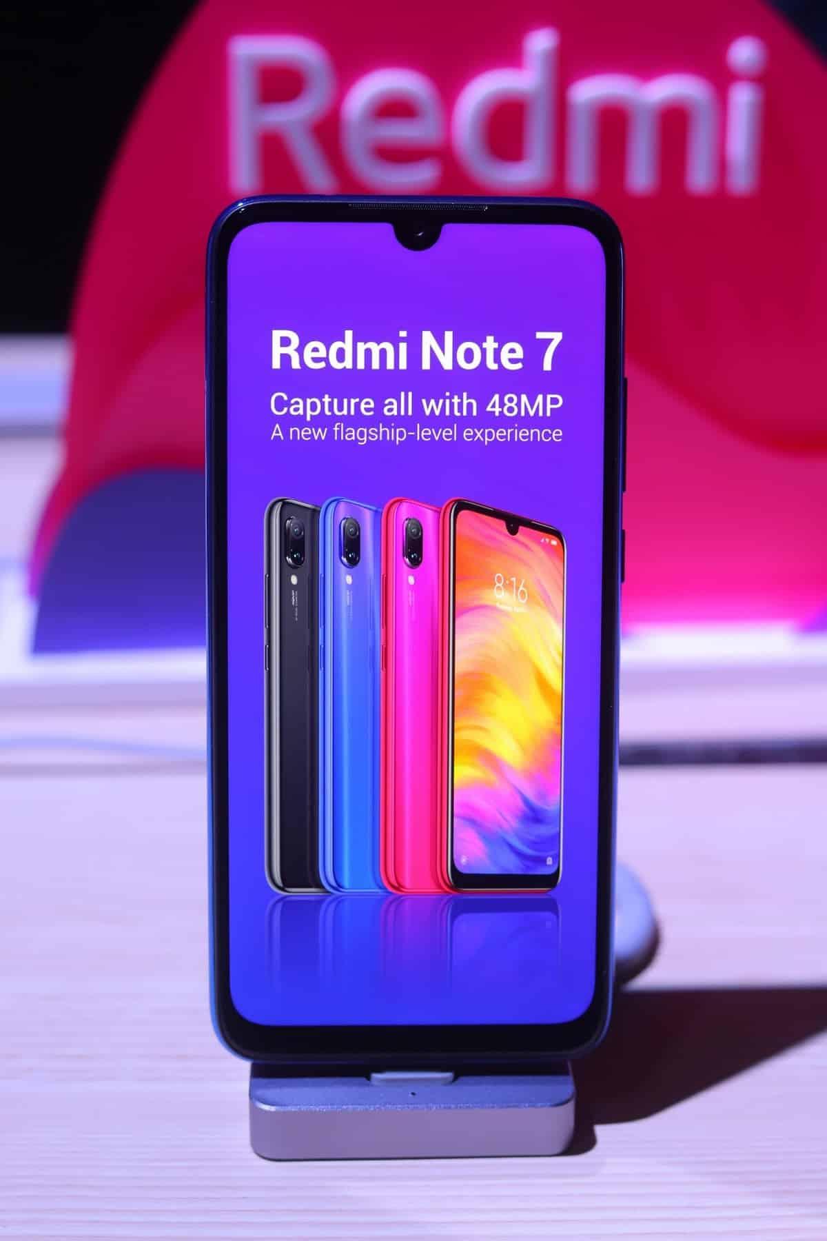 Redmi Note 7 1 1 - เสียวหมี่ เปิดตัว Redmi Note 7 อย่างเป็นทางการในประเทศไทย