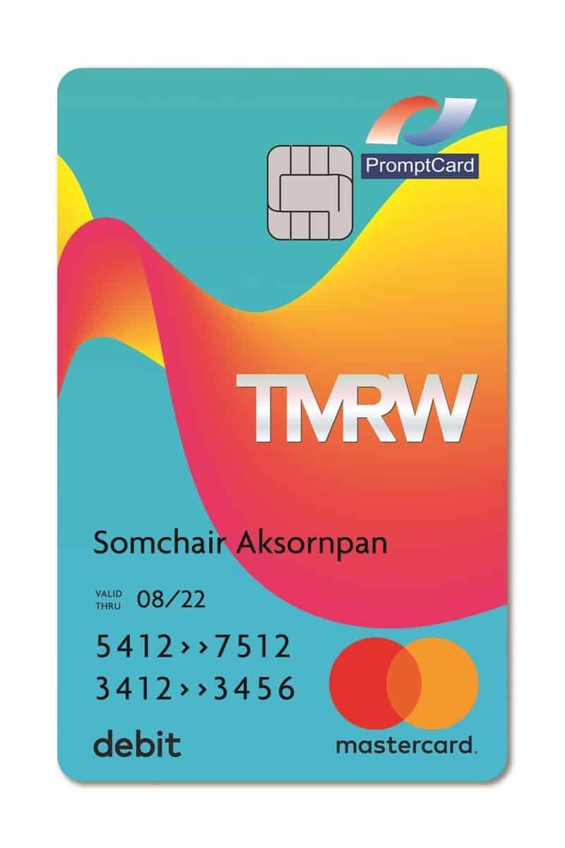 TMRW-Debit-Card