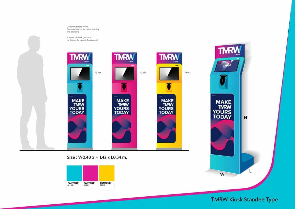 TMRW-Kiosk