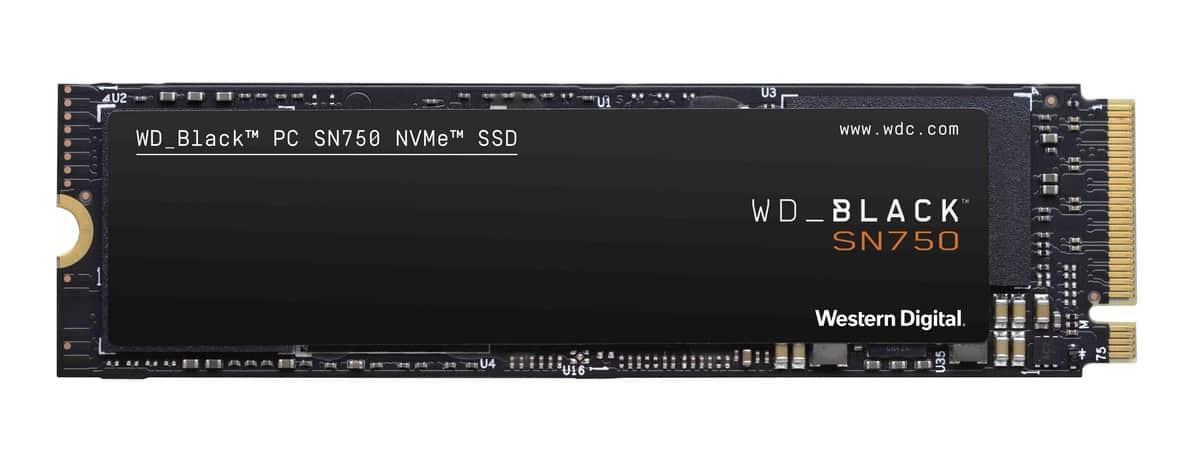 WD Black SN750 Noheatsink - WD เปิดตัว WD Black SN750 NVMe SSD ความจุสูงสุด 2TB