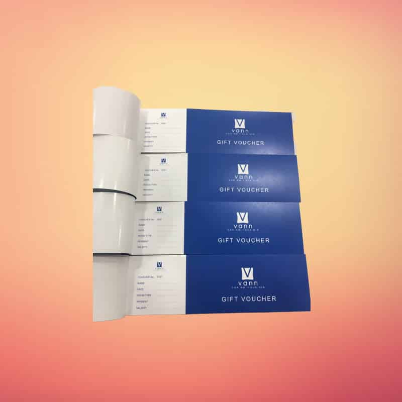 coupon 1 1 - บริการ พิมพ์คูปอง Gift Voucher บัตรกำนัล บัตรส่วนลดสินค้า บริการ ในลาดพร้าว กรุงเทพ