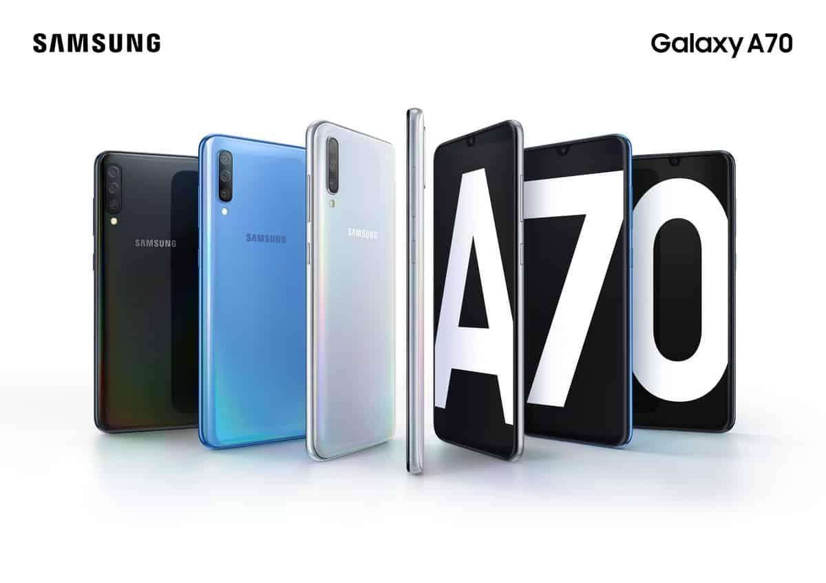 Galaxy A70. - ซัมซุงเปิดตัว Galaxy A70 เชื่อมต่อไม่สะดุด เก็บภาพได้ทุกโมเมนต์