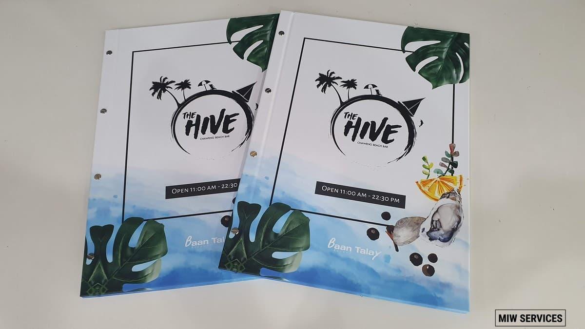 20190610 090710 - ตัวอย่างเมนูอาหารร้าน The Hive Samui Chaweng Beach