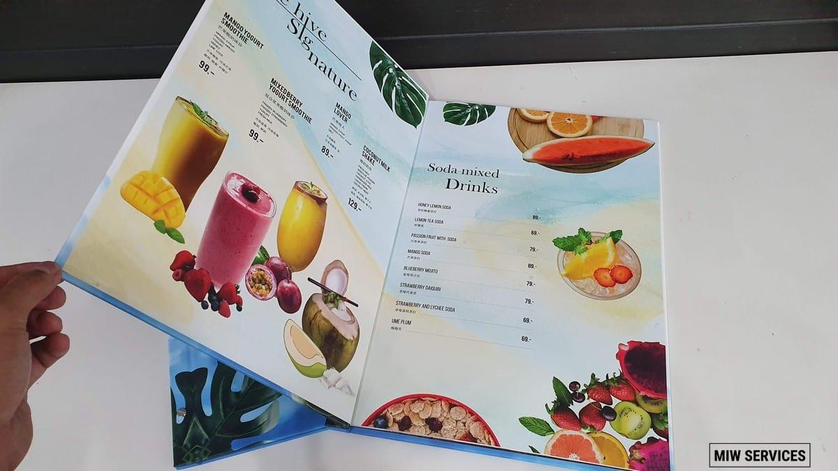 20190610 090741 - ตัวอย่างเมนูอาหารร้าน The Hive Samui Chaweng Beach