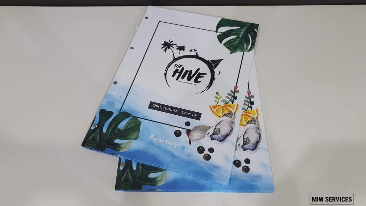 20190610 091112 - ตัวอย่างเมนูอาหารร้าน The Hive Samui Chaweng Beach