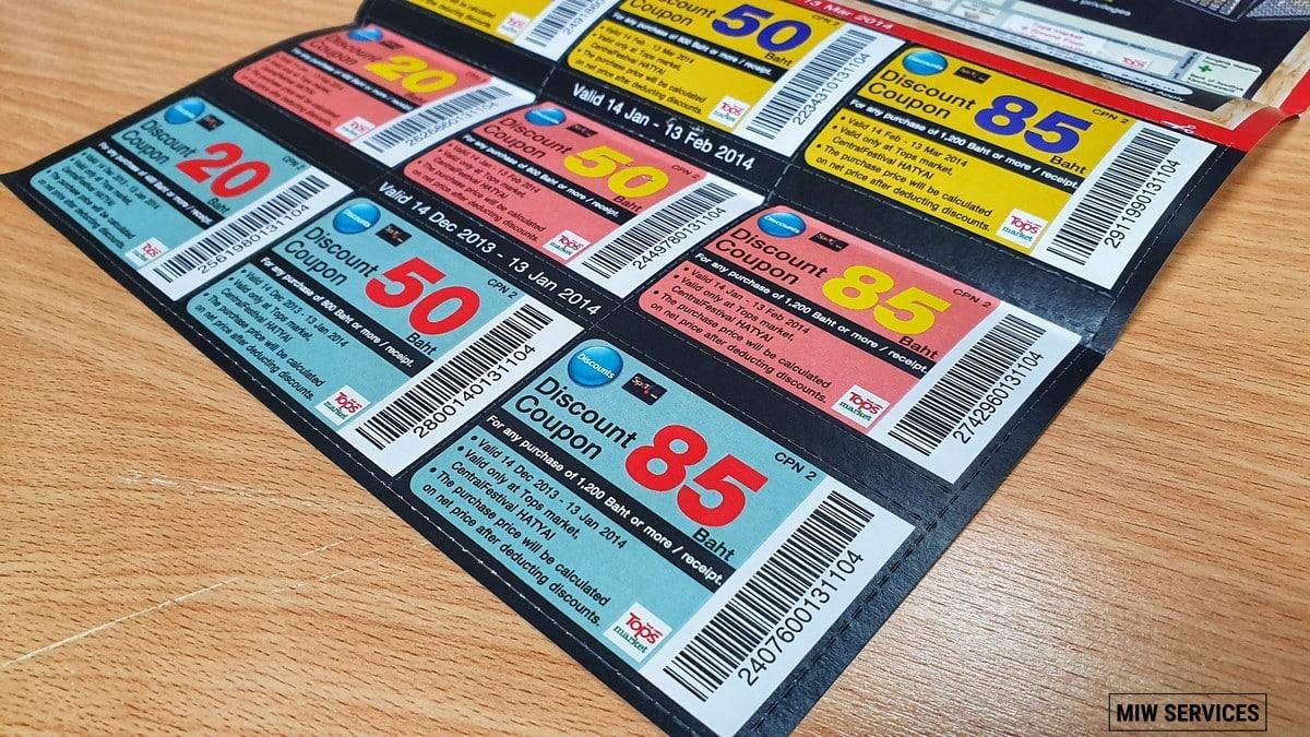 280504 - การพิมพ์ Barcode ลงในคูปองทำอย่างไร และใส่เข้าไปทำไม