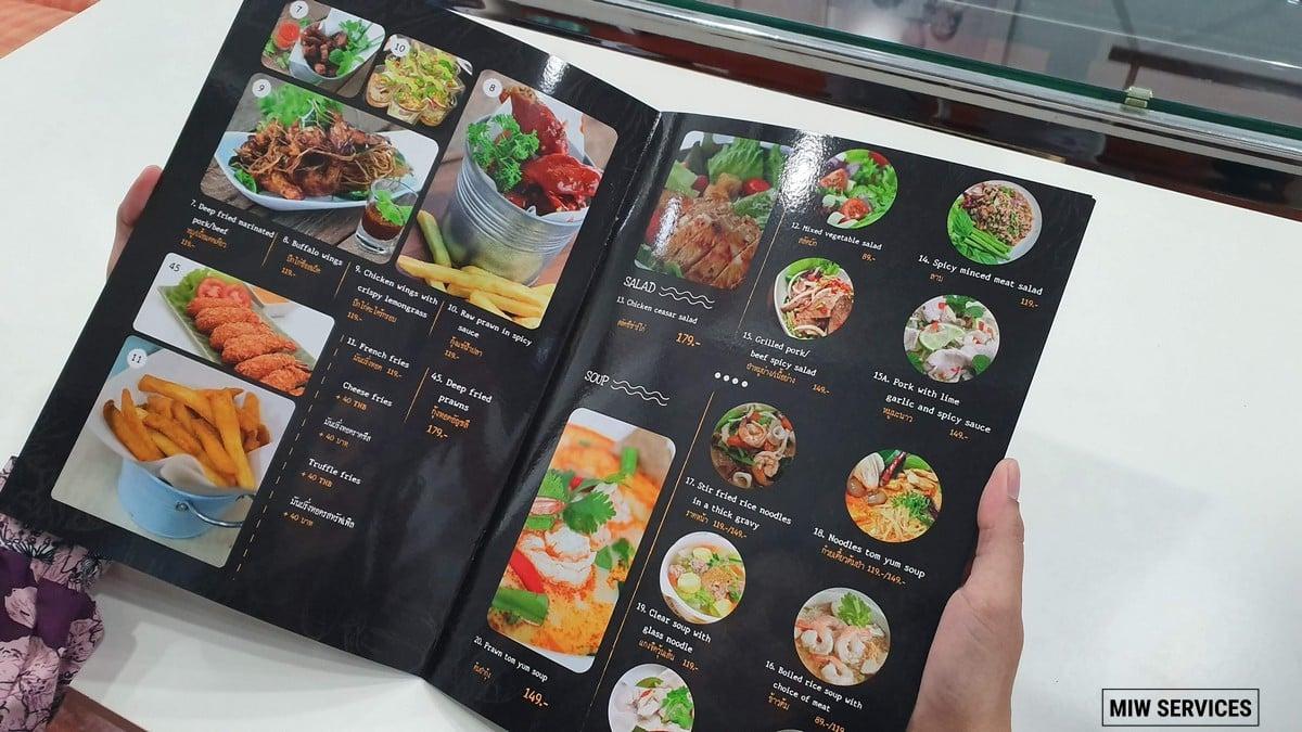 20190708 135854 - ตัวอย่างเมนูอาหารร้านมาเด้อหล่า (Maderla Thai Restuarant)