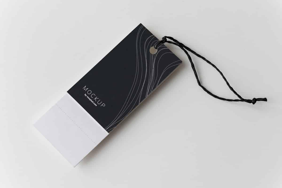 black blank blank space 1493322 - บริการ พิมพ์ป้ายแท็กสินค้า ป้ายห้อยสินค้า ป้ายแท็กเสื้อผ้า ในลาดพร้าว กรุงเทพ