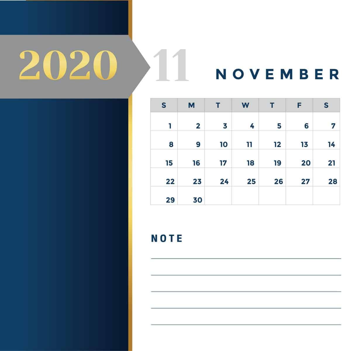 Calendar Miw Services 11 - แจกฟรี! ภาพปฏิทิน 2563 ครบ 12 เดือน พร้อมวันหยุดราชการไทย (PNG, PDF)