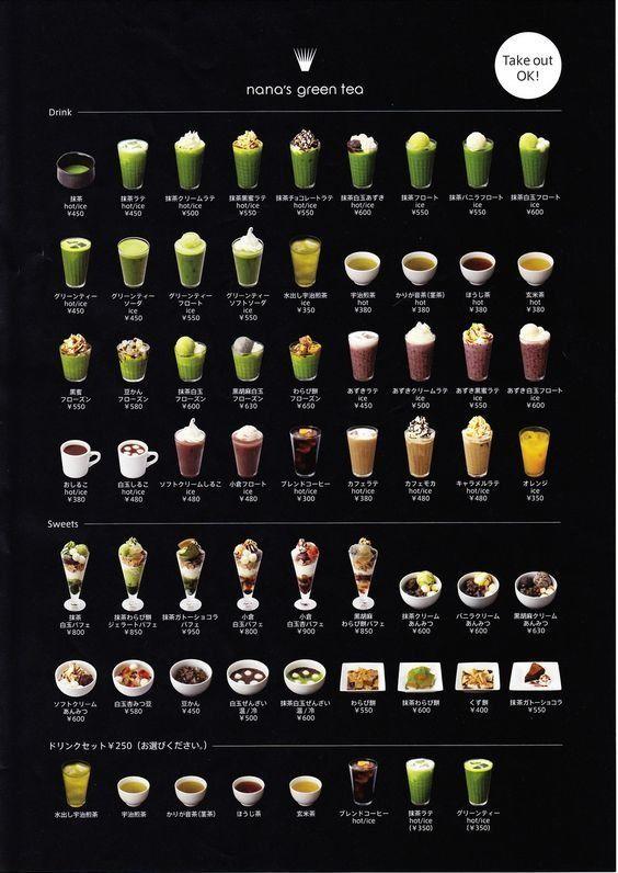 6 - 10 ตัวอย่างงานออกแบบเมนูเครื่องดื่ม ป้ายเมนูเครื่องดื่มที่ดีไซน์สวย