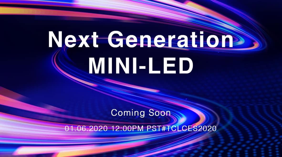 20191227 2679686 1 - TCL เตรียมจัดแสดงเทคโนโลยี Mini-LED เจเนอเรชั่ นใหม่ในมหกรรม CES 2020