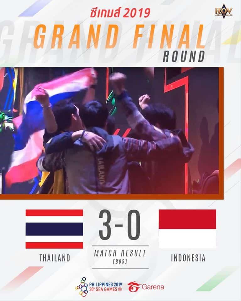 2 RoV Winner of SEA Games 2019 - ทีมชาติไทยคว้าเหรียญทอง จากเกม RoV ในศึกซีเกมส์ 2019