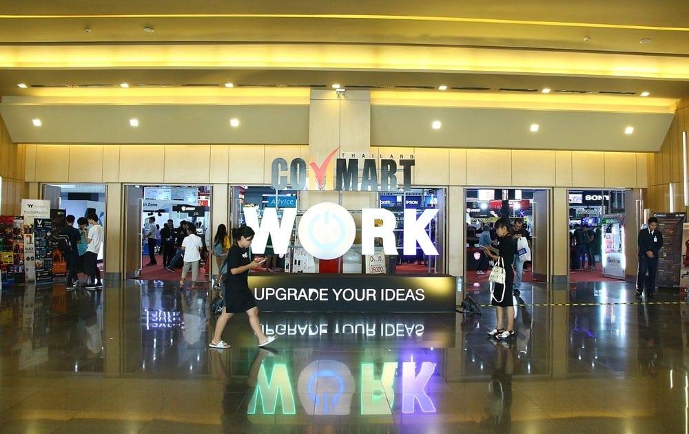 COMMART WORK 2019 00002 - เปิดงาน COMMART WORK 2019 ช้อปโปรกระหน่ำ ส่งท้ายปี19  - 22 ธันวาคม 2562 ณ ไบเทค บางนา