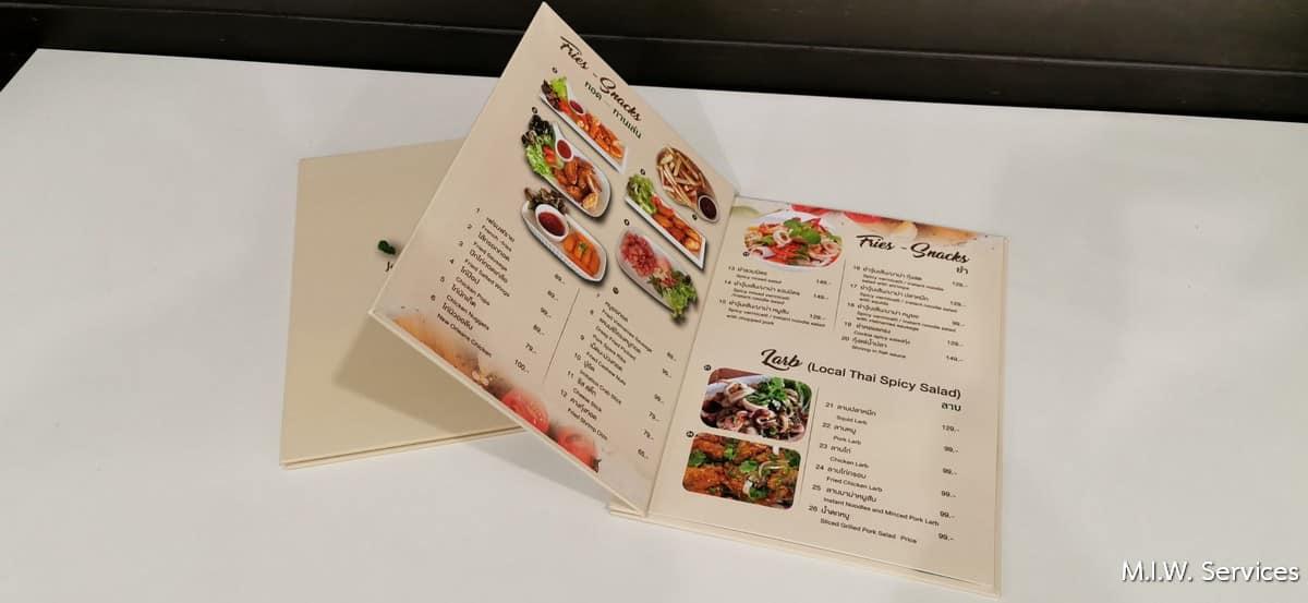 351502 - ตัวอย่างเมนูอาหารหุ้มจั่วปังร้าน Café for you