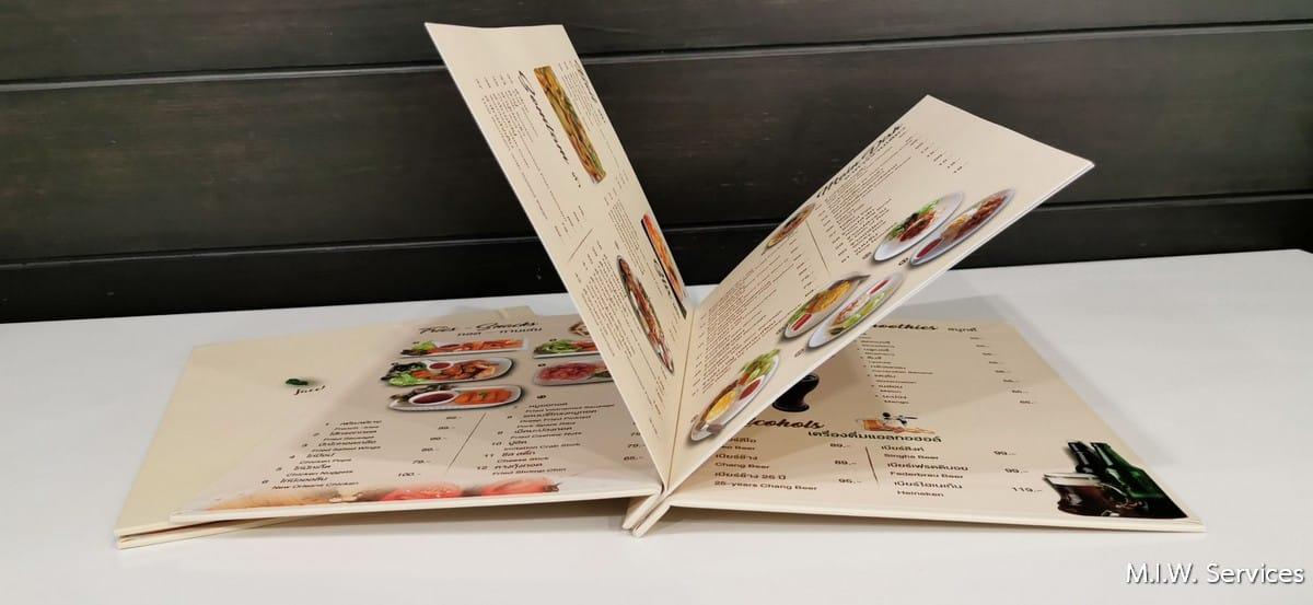 351504 - รับพิมพ์เมนูอาหาร ราคาถูก ไม่มีขั้นต่ำ พิมพ์ด่วน ด้วยงานคุณภาพ จัดส่งทั่วประเทศ