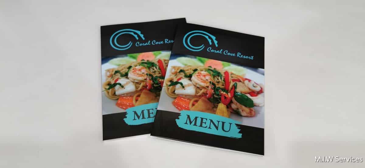 358174 - ตัวอย่างเมนูอาหารร้าน Coral Cove Resort เกาะสมุย