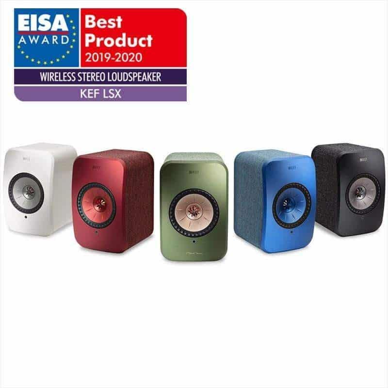 LSX EISA - ก้าวไปอีกขั้นกับ KEF LSX สุดยอดนวัตกรรมลำโพง ไพเราะตอบรับทุกไลฟ์สไตล์อย่างมีระดับ