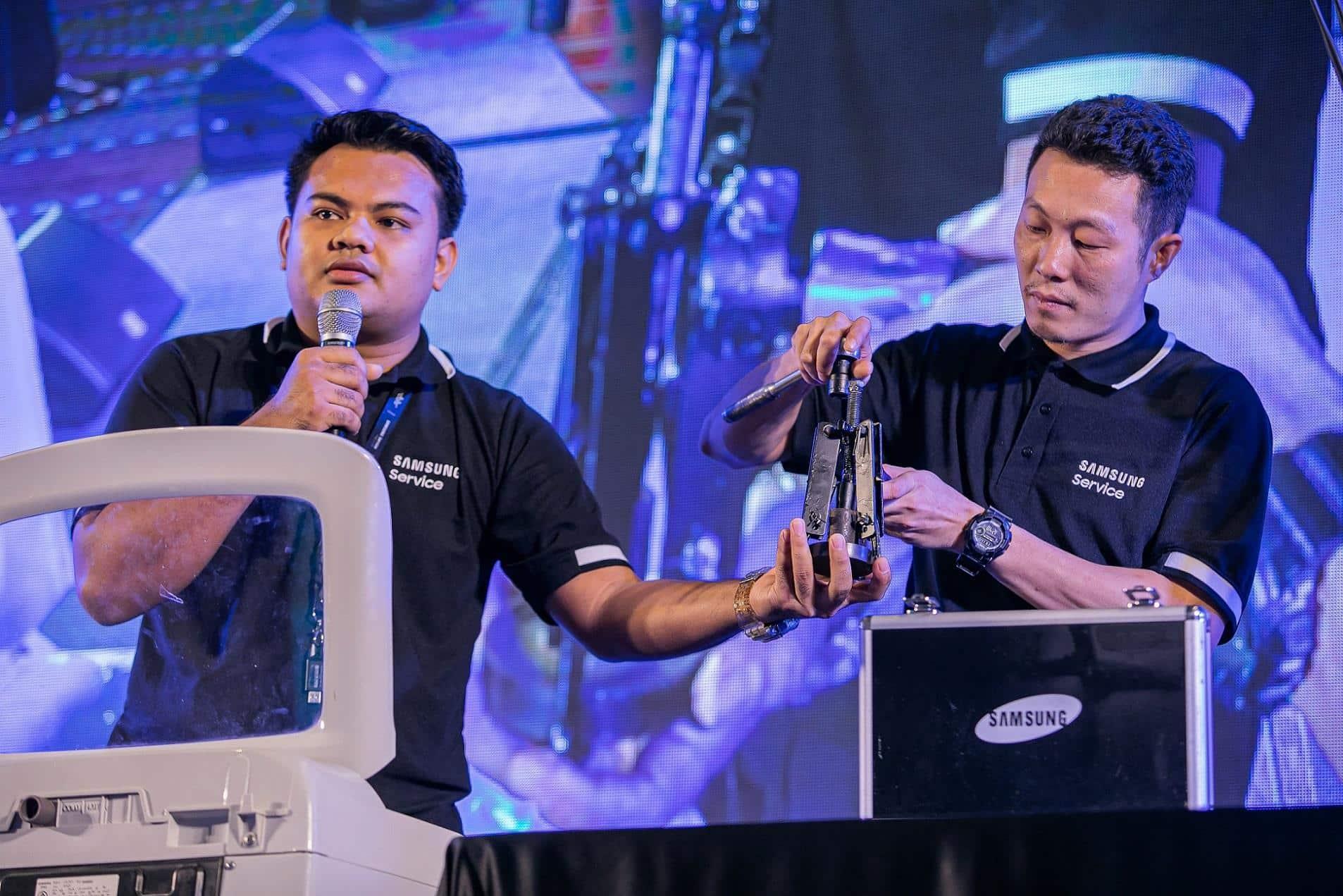 Samsung - Samsung Services สานต่อความ 'ตั้งใจ' เดินหน้าชูนโ ยบายด้านการบริการปี 2563