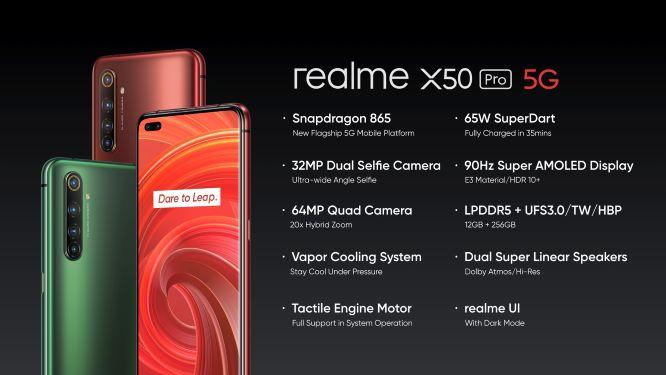 1.3 - realme เปิดตัว realme X50 Pro 5G เปิดประสบการณ์ความเร็ วแห่งอนาคต
