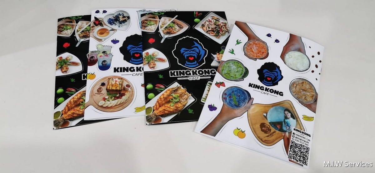 363899 - ตัวอย่างเมนูอาหารร้าน KINGKONG Cafe จังหวัดสระบุรี
