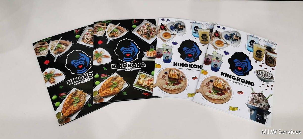 363903 - บริการ พิมพ์เมนูอาหาร ออกแบบเมนูอาหาร พิมพ์เมนูเครื่องดื่ม
