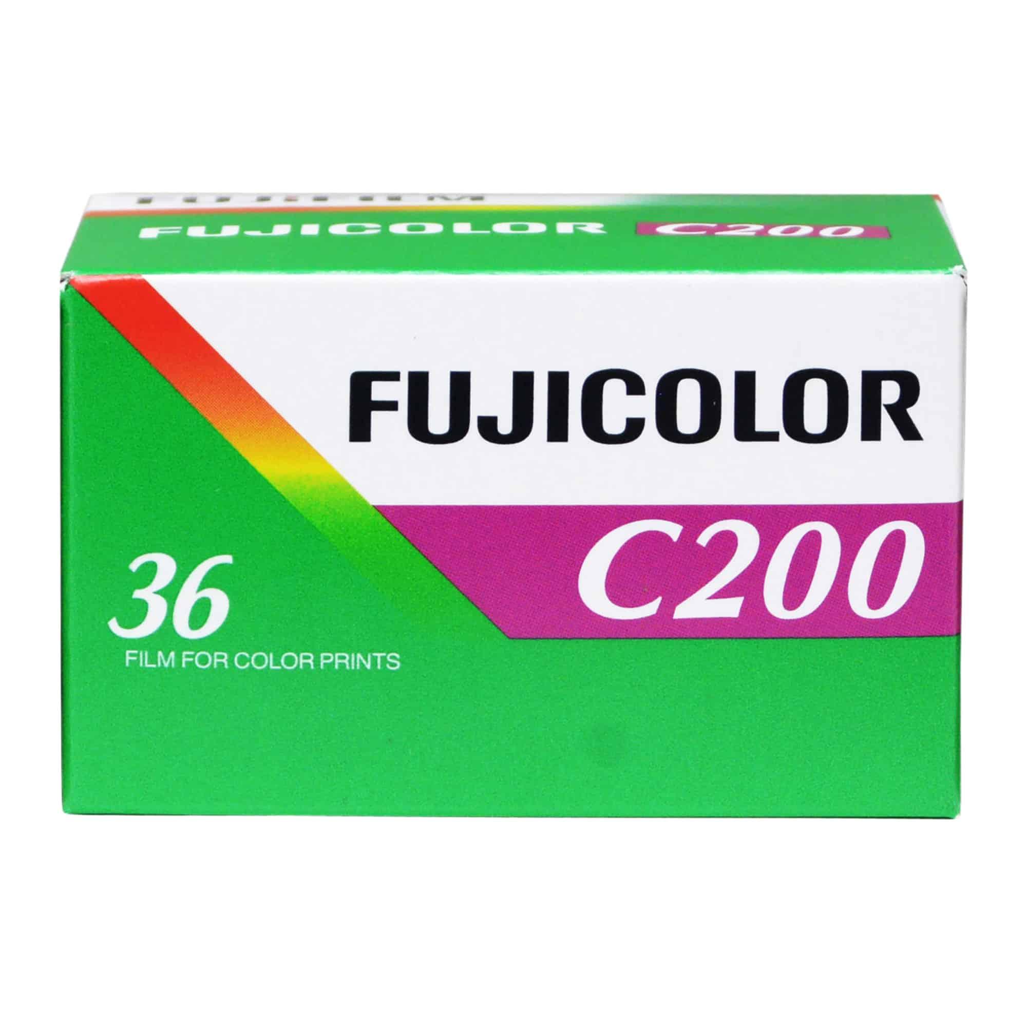 Fuji C 200 1 - 5 ฟิล์มสี ถูกและดี สำหรับมือใหม่หัดเล่นกล้องฟิล์ม