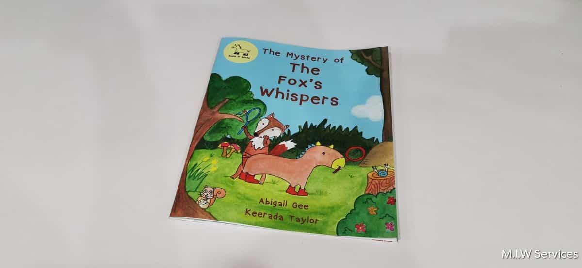 Bookprinting 00002 - ตัวอย่างงานพิมพ์หนังสือ DEMO: The Fox's whispers