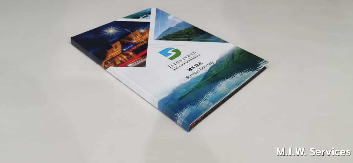 catalog 00002 - ตัวอย่างงานพิมพ์หนังสือแค็ตตาล็อก แดนสะหวันน้ำงึมรีสอร์ท