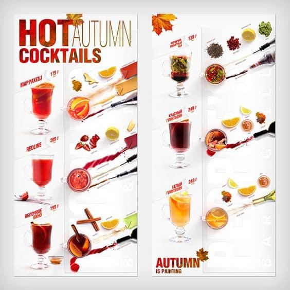 menu 06 - พิมพ์เมนูเครื่องดื่มยังไงให้ดูสวยงาม และดึงดูดให้ลูกค้าสั่ง