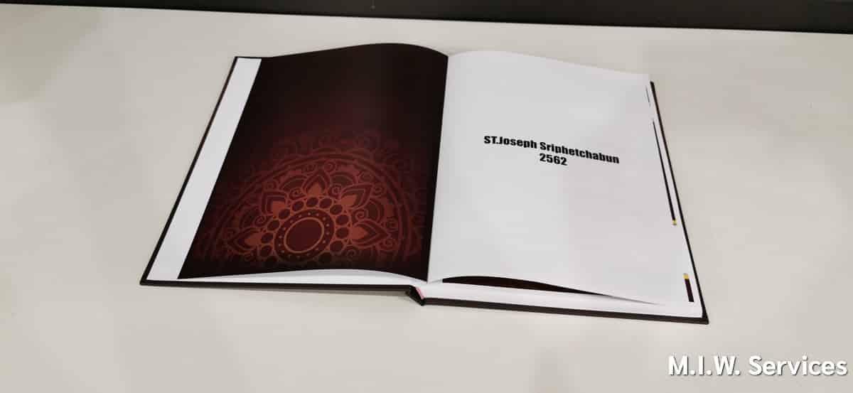 yearbook 00001 - ตัวอย่างงานพิมพ์หนังสือรุ่น ST.Joseph Sriphetchabun School 22 AMARA