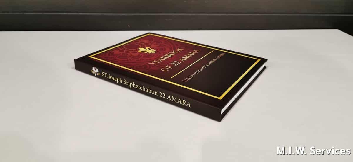 yearbook 00006 - ตัวอย่างงานพิมพ์หนังสือรุ่น ST.Joseph Sriphetchabun School 22 AMARA