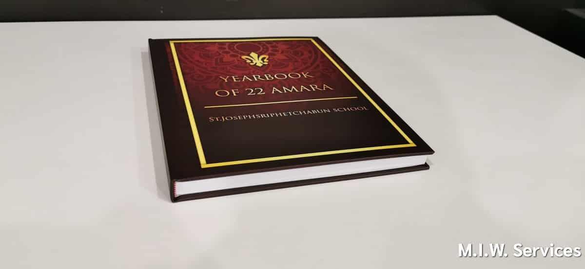 yearbook 00007 - ตัวอย่างงานพิมพ์หนังสือรุ่น ST.Joseph Sriphetchabun School 22 AMARA