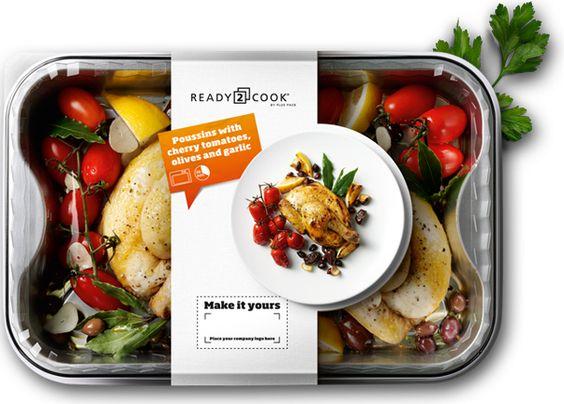 box sticker 013 - 10 ตัวอย่างงานออกแบบและสติ๊กเกอร์ติดกล่องอาหารสวย ๆ เห็นแล้วเกิดไอเดีย