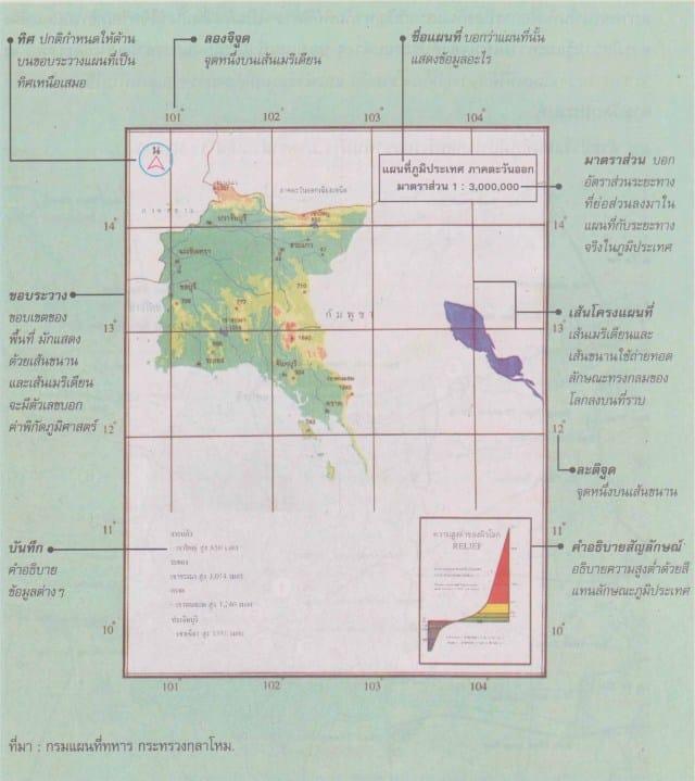 map 01 - องค์ประกอบของการออกแบบแผนที่ และความสำคัญของการออกแบบแผนที่