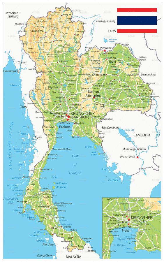 map 02 1 - สัญลักษณ์บนแผนที่และการแสดงข้อมูลประกอบการออกแบบแผนที่