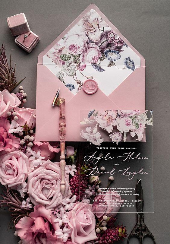 wedding card 09 - พาชม 10 ตัวอย่างการ์ดเชิญงานแต่ง ที่ออกแบบมาสวยหรู ดูไฮโซ