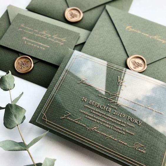 wedding card 16 - พาชม 10 ตัวอย่างการ์ดเชิญงานแต่ง ที่ออกแบบมาสวยหรู ดูไฮโซ