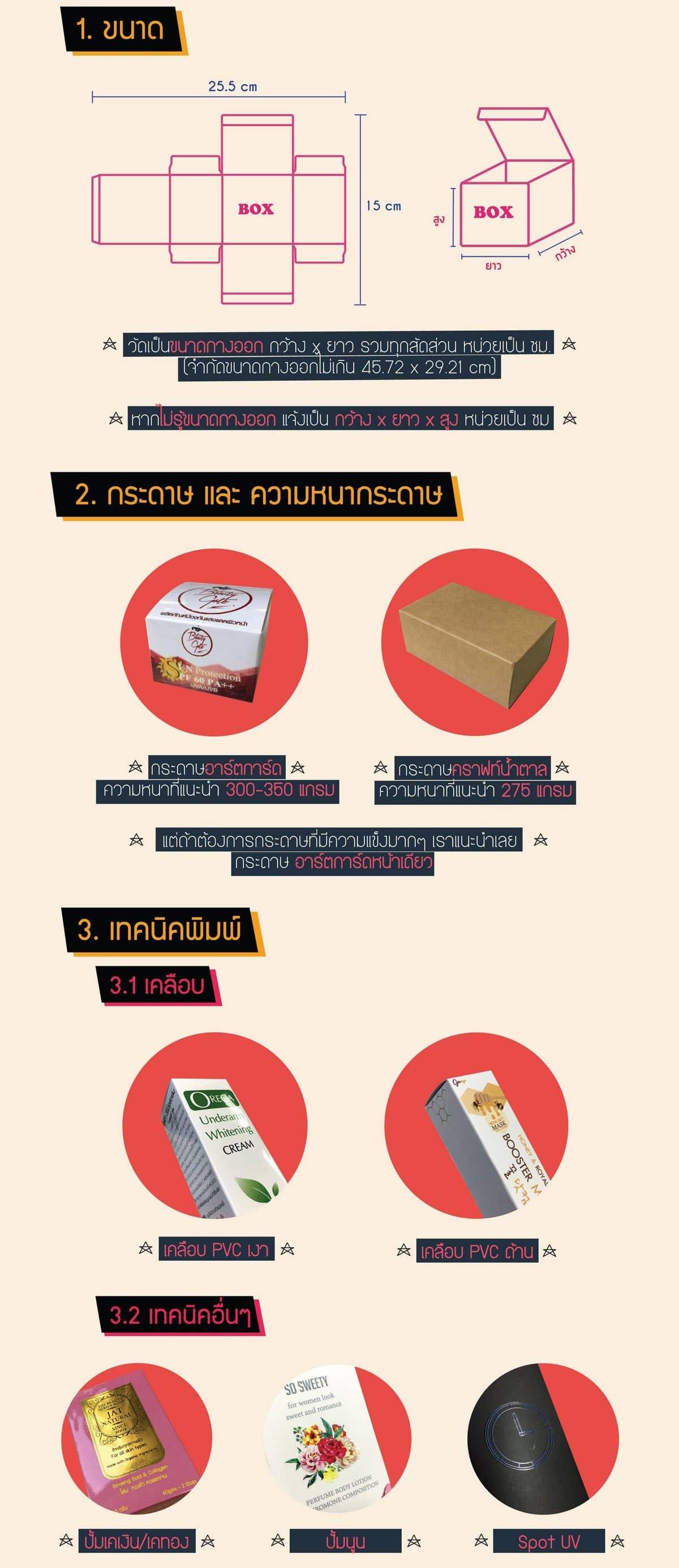 box n menu 03 1 1 - บริการ รับพิมพ์ ผลิตและออกแบบกล่องบรรจุภัณฑ์ กล่องสินค้า กล่องครีม กล่องเครื่องสำอาง
