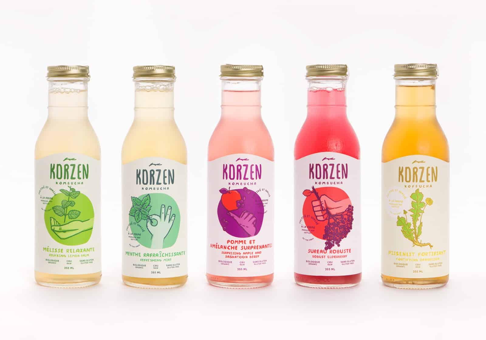 Drink sticker 06 - 10 ตัวอย่างสติ๊กเกอร์ติดขวดเครื่องดื่ม ดีไซน์สวย ช่วยเพิ่มมูลค่าให้กับสินค้า