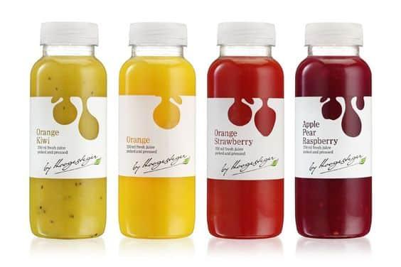 Drink sticker 12 - 10 ตัวอย่างสติ๊กเกอร์ติดขวดเครื่องดื่ม ดีไซน์สวย ช่วยเพิ่มมูลค่าให้กับสินค้า