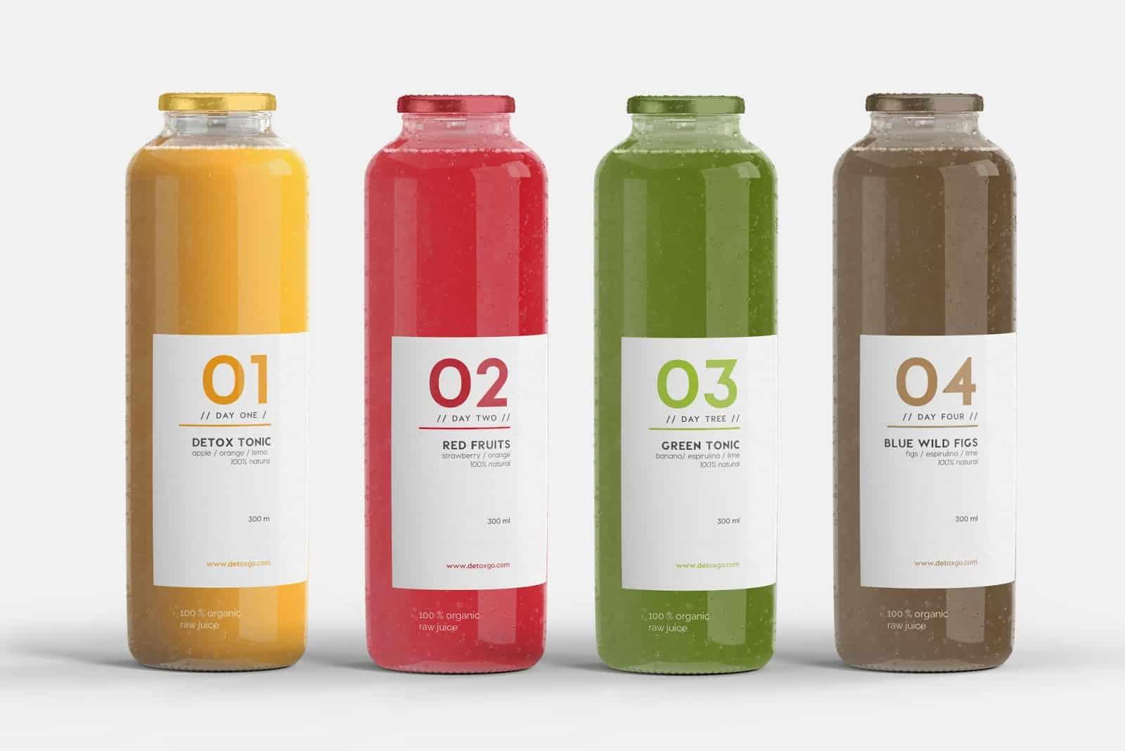 Drink sticker 17 - 10 ตัวอย่างสติ๊กเกอร์ติดขวดเครื่องดื่ม ดีไซน์สวย ช่วยเพิ่มมูลค่าให้กับสินค้า