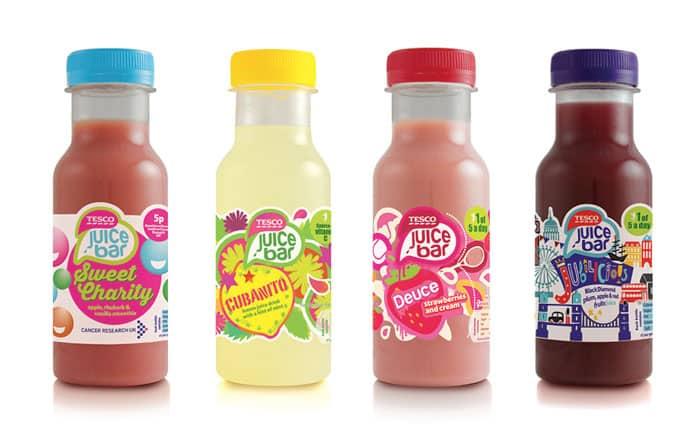 Drink sticker 37 - 10 ตัวอย่างสติ๊กเกอร์ติดขวดเครื่องดื่ม ดีไซน์สวย ช่วยเพิ่มมูลค่าให้กับสินค้า