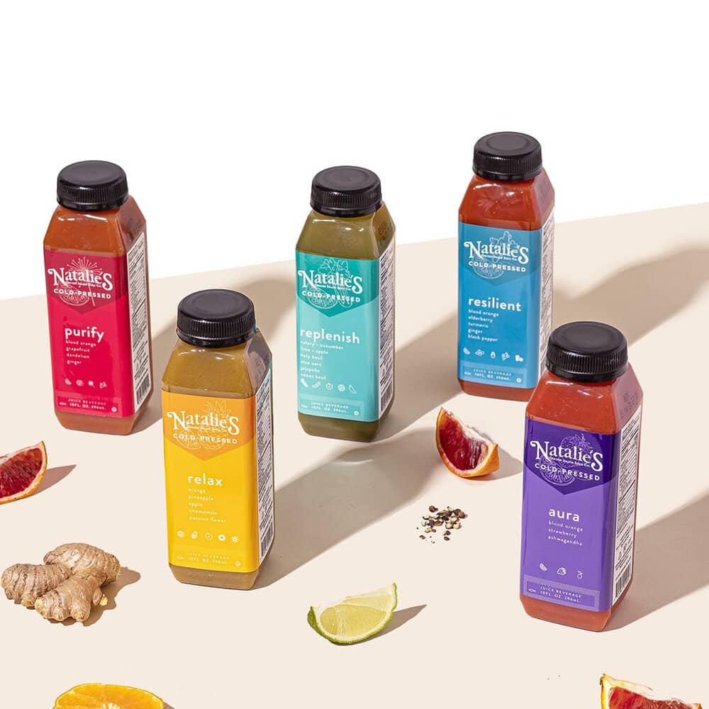 drink 02 - 10 ตัวอย่างสติ๊กเกอร์ติดขวดเครื่องดื่ม ดีไซน์สวย ช่วยเพิ่มมูลค่าให้กับสินค้า