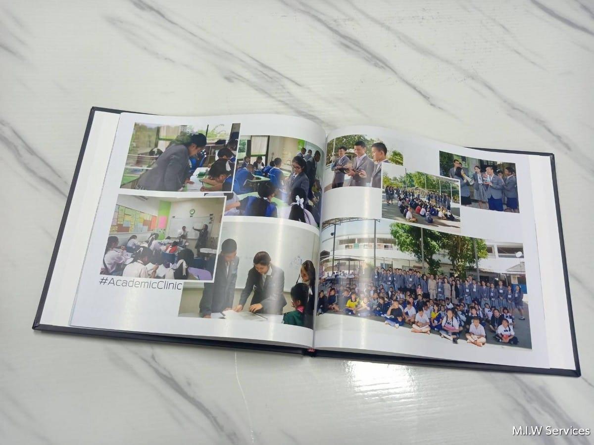varee yearbook 00002 - ตัวอย่างงานพิมพ์หนังสือรุ่น หนังสือทำเนียบรุ่น: สโมสรนักเรียนวารี